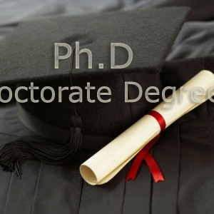Phd doctorate degree