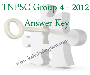 TNPSC-Group-4---2012-Answer-Key