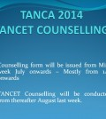 TANCA 2014 Counselling