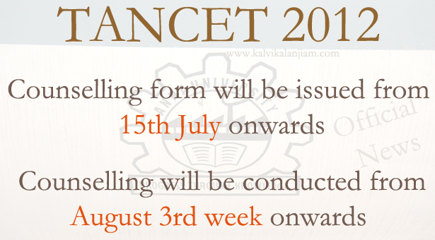 TANCET-2012-Counselling-and-application-form
